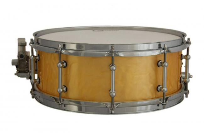 "14"" x 5,5"" Snare Drum, Ray Ducoat Acryl Shell, Caramel"